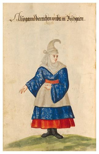 03- Vestimentas de  Portugal y España año 1600- 17v