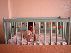 aina got the cutest vintage crib!