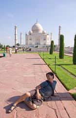 Working the Taj Mahal