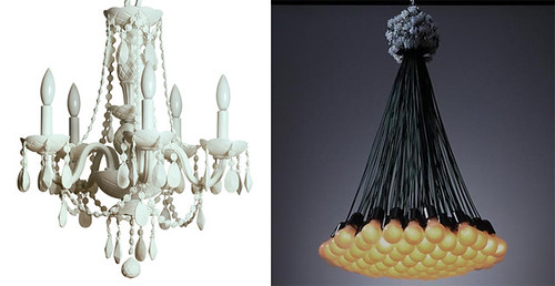 rubber chandelier