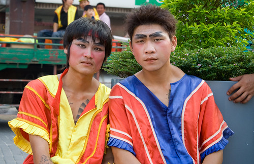 2008年 桃園中元祭 潁川高蹺陣
