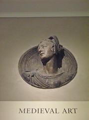 Roundel with the Bust of a Lady in Contemporary Dress (peterjr1961) Tags: nyc newyorkcity newyork art museum met themet metropolitanmuseumofart