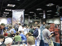 Fantasy Flight booth - opposite angle