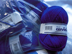Yarn: Caprice Dk Blue