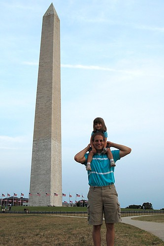 The Washington Monument meets The Ross Monument.