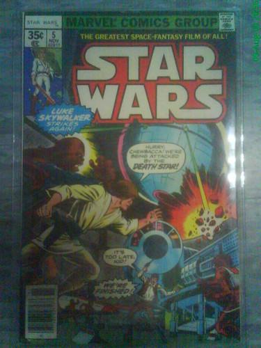 Vintage Star Wars Comics: Marvel Comics - THE GALACTIC SENATE