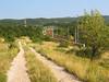 sentiero lungo ferrovia