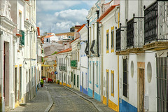 Arraiolos #1 (CGoulao) Tags: street blue red house color tourism portugal yellow architecture casa arquitectura village visit popular alentejo passeio catcycolors arraiolos anawesomeshot aplusphoto colourartaward porestaibriafora mygearandme mygearandmepremium