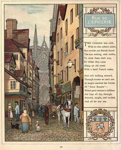 04- Rouen calle de las tiendas de ultramarinos
