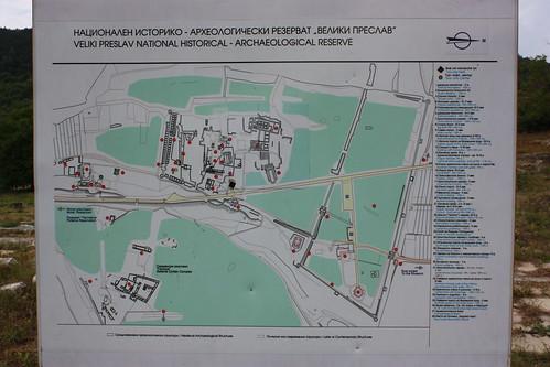 Map of Preslav