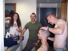 hg324 (Horseshoe Joe) Tags: haircut mohawk flattop