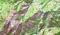 Carte Trek Basseta étape 2 (parcours Dominique Treillard en 07/2008)