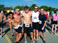 Fins at Dewey Beach Sprint Triathlon