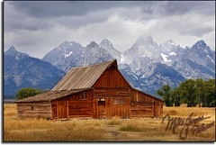 The Old Barn (MikeJonesPhoto) Tags: nature landscape nationalpark photographer scenic professional wyoming grandtetons wy mormonr