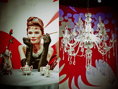 """I was born with... (Jadore Allure) Tags: madame london statue audrey hepburn allure waxwork jadore taussauds"