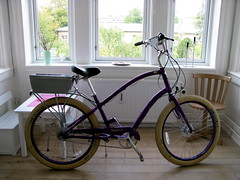 Yahoo Purple Pedals in Copenhagen