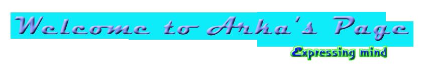 Arka's Blog