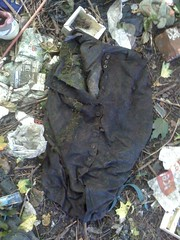 Found at the landfill site: straight pencil skirt (longyman) Tags: abandoned rotting trash found clothing junk away clothes rubbish waste discarded landfill thrown rotted thrownaway pencilskirt straightskirt straightpencilskirt