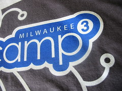 BarCampMilwaukee3 T-Shirt: Front Detail