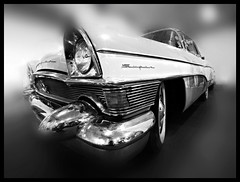 Super model (Sator Arepo) Tags: blackandwhite bw classic car reflex classiccar wheels olympus vehicle motor zuiko clipper packard e500 uro packardclipper 714mm zd714mm fzfave retofz090131