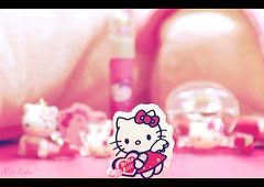 .. ll tt ..  (Maryam.Ibrahim) Tags: hello pink white kitty mywinners