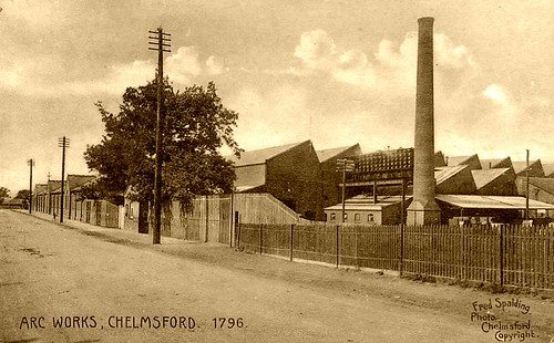 Chelmsford. Colonel Crompton's Arc Works c1885