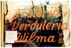 Belgrano - Wilma (bananasplit3) Tags: frutas verduras reflejo vidriera vidrio tipografia cartel belgrano caligrafia frutera verdulera