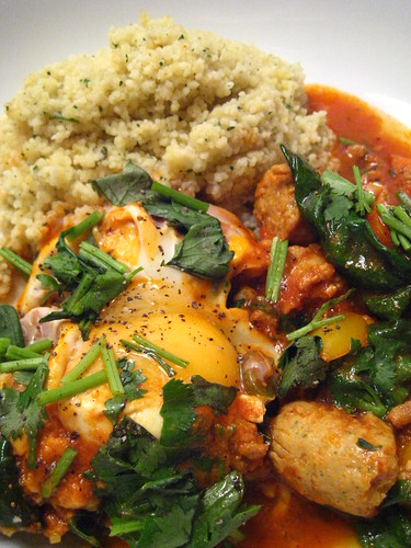 Breakfast Tagine - Serving it Up