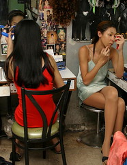 Pattaya ladyboys backstage