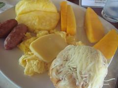 Ube Ensaymada And Breakfast