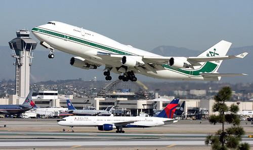 Image result for Boeing 747-400 al waleed bin talal