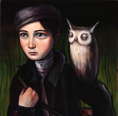 """""""Night Courier"""" (verpabunny) Tags: original painting acrylic distinction kellyvivanco infinitysquared"""