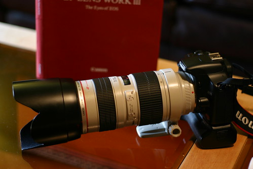 XSi and battery grip with 70-200 2.8