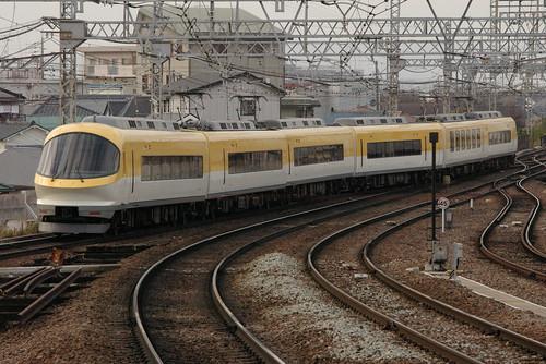 Kintetsu23000series in Yamato-Yagi,Kashihara,Nara,Japan 2008/12/13