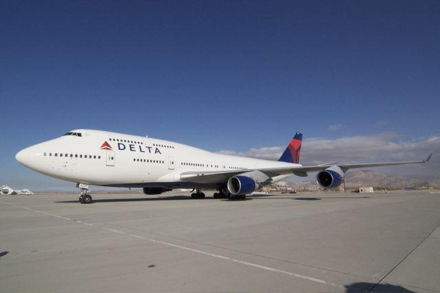 Delta Boeing 747-400 New Livery