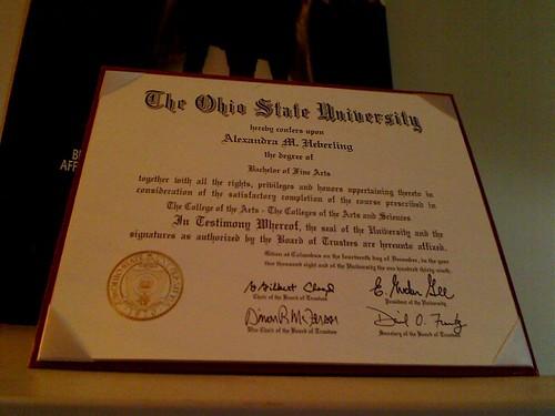 Sexy Diploma