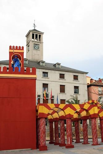 Ayuntamiento e instalación del Belén