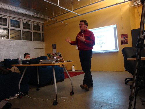 Kevin Marks at the Open Stack Meetup