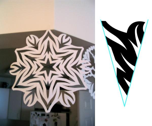 Snowflake Pattern, #1
