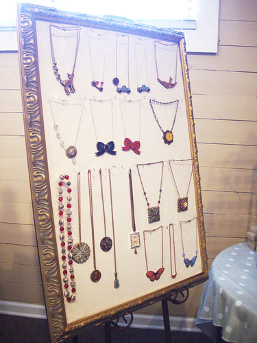Necklaces by Genevieve Gail.