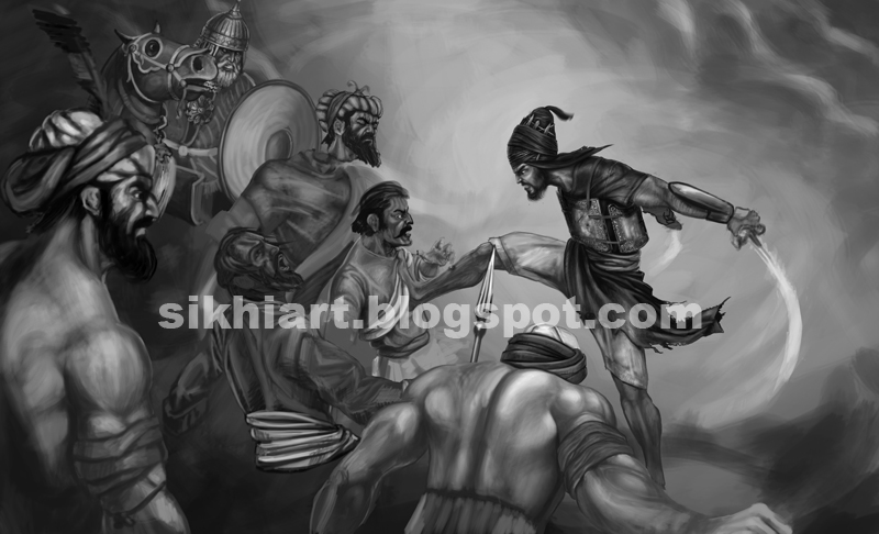 Painting Sikh History: Battle Of Chamkaur