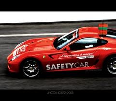 Always Safety First (LINCOLNOSE2) Tags: life red wild horse motion speed catchycolors track fast ferrari lane malaysia pro sepang highspeed motorsport the in safetycar a1gp worldcupofmotorsport digifoto canoneos400d lincolnose22008 thisstandsout 50255is