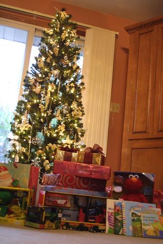 Santa was here!