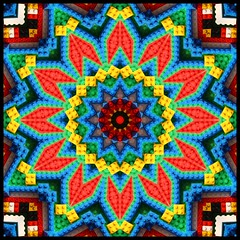 Legoscope (I've been tagged) (Lyle58) Tags: blue red abstract color green geometric yellow circle design colorful pattern kaleidoscope mandala symmetry zen harmony legos reflective symmetrical balance circular kscope kaleidoscopic kaleidoscopes kaleidoscopefun kaleidoscopesonly lyle58