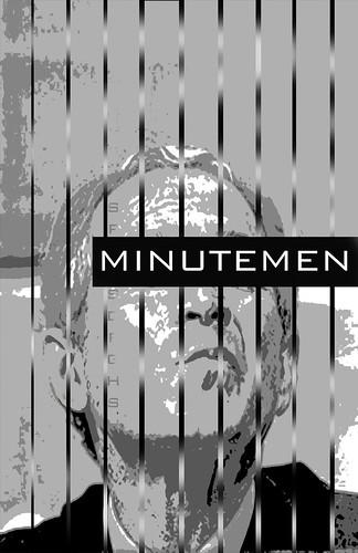 Minutemen Bush Poster