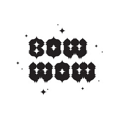 BOW WOW (Kliment*) Tags: black wow logo typography design graphic symbol mark identity bow type typo brand vector logotype typographic logotypo