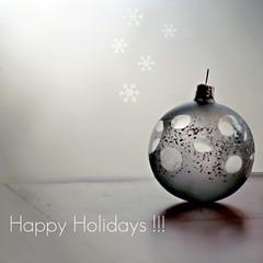 Happy Holidays !!!! (Maureen F.) Tags: christmas bravo holidays bokeh may it ornament contacts be newyears hanukkah joyous seasonsgreetings chanuka boasfestas buonefeste wesołychświąt felicesfiestas joyeusesfêtes toallmyflickrfriends tooneandall infinestyle whateveryoucelebrate andsomanymoregreetingsindifferentlanguagesthaticouldnotfind