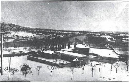 Cristo de la Vega y alrededores cubiertos de nieve en 1930. Foto Rodriguez para Revista Nuevo Mundo