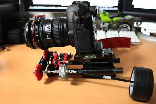 DIY Follow Focus for EOS 5D Mark II