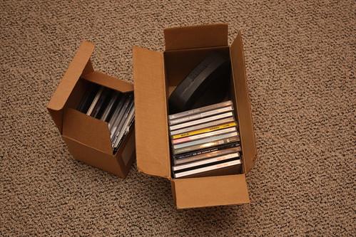 CD Cases of Stolen Discs